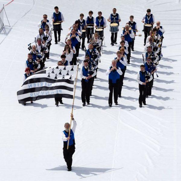 FIL 2012 - Arrivée de la grande parade des nations celtes - Son